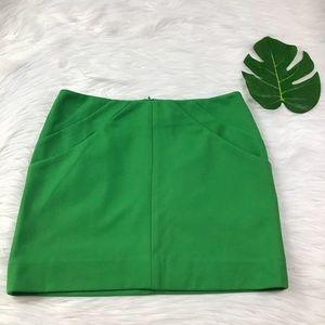Diane Von Furstenberg Green Zipper SZ 2